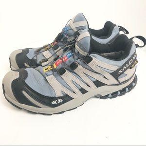 Salomon XCR Gore Tex Trail Running Shoes Ortholite
